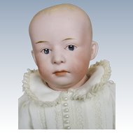 Antique Gebruder Heubach Pouty Bisque Head Doll