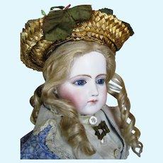 Exquisite French Portrait Jumeau French Fashion Poupee Doll