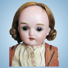 Kling Antique German Bisque Head Doll ~ Original Clothes