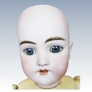 "Antique 17"" German Bisque Head Handwerck 119 Mold Doll"