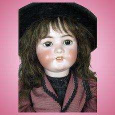 "29"" Simon Halbig German Bisque Head Doll"