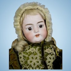 "Antique 18"" Simon Halbig 1079 German Bisque Head Doll ~ Great Clothing!"