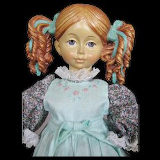 """13"""" All Wood Jointed 1988 Limited Dolfi Nadia Doll"""