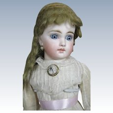 """16"""" French Face Belton Mold 137 Antique German Doll"""