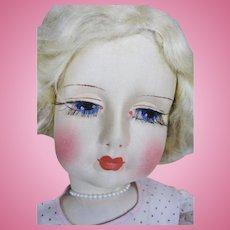 Vintage Blossom Cloth Boudoir Doll ~ Original Tagged Clothing