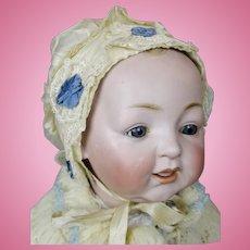 Vintage Silk Antique Doll Bonnet