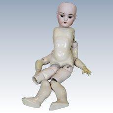 """15"""" Antique German Handwerck 109 Bisque Head Doll"""