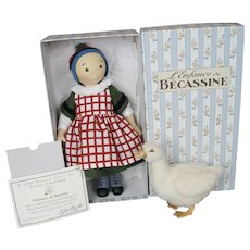 R. John Wright  Becassine & Goose - Silly Goose Tales Dolls - UDFC Souvenir 2006