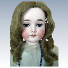 """23"""" Antique Queen Louise Bisque Head Doll by Armand Marseille ~ All Antique"""