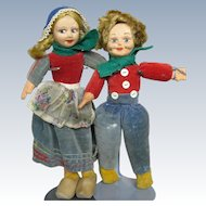 Vintage Norah Welling English Cloth Dolls