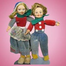 Vintage Norah Welling English Cloth Dolls