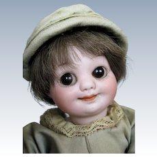 """Cutest 7"""" Armand Marseille 323 Googly Eye German Doll"""