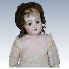 """24"""" Antique Simon Halbig 1009 Early German Bisque Head Doll"""