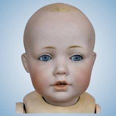 """Antique 12"""" Hilda Kestner Solid Dome German Bisque Head Doll"""