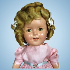 "1930s 13"" Composition Ideal Shirley Temple Doll"