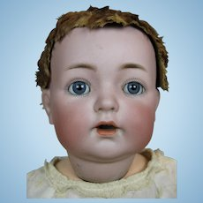 "Antique 16"" Kammer Reinhardt 121 Mold German Bisque Head Baby Doll"