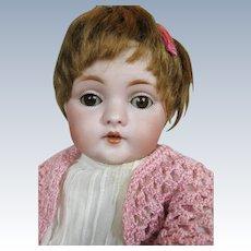 """Adorable 12"""" Antique Kestner 143 Character German Doll"""