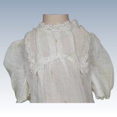 Antique Original Factory Doll Chemise for your German or French Bebe or Doll
