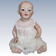 Adorable Large Kestner Antique German Baby Doll TLC