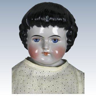 Antique ABG China Head Highland Mary Doll