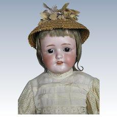 "Sweet Antique 22"" Simon Halbig German Doll"