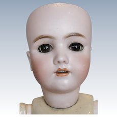 "Antique 22"" German Simon Halbig Handwerck Bisque Head Doll"