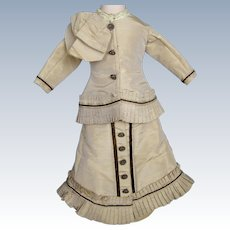 French Fashion Doll Dress ~ Bodice and Skirt