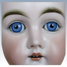 "Antique Early Kestner 19"" German Bisque Head Doll"