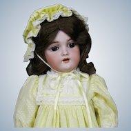 "Antique 16"" German Handwerck 109 Mold Doll"