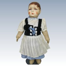 "Antique Cloth 10"" German Bing Doll"