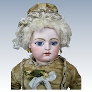 """Antique 13"""" F.G. Gaultier French Bebe Doll Block Letter"""