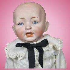 """Antique 14"""" German Kestner Bisque Head Toddler Doll"""