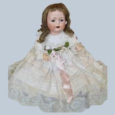 Sweetest Antique German Bahr Proschild Baby Doll w Scrumptious Clothing!