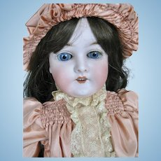"Gorgeous 22"" Antique German Queen Louise Marseille Doll ~ Huge Eyes!"