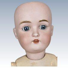 """Antique 21"""" German Kestner Doll For You To Dress"""