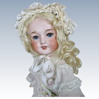 "15"" Antique French Bebe Tete Jumeau Unis 301 Bebe Doll"