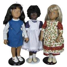 Group of 3 Vintage Sasha Dolls, Includes Cora