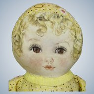 Maude Tausey Fangel Georgene Averill Cloth Doll Circa 1938