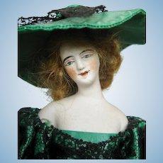 Antique Paris French Bisque Pandora Type Fashion Doll