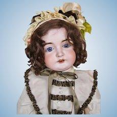 Stunning German Kestner Bisque Socket Head Doll