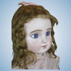 Gorgeous Antique French Steiner Series C Bebe Doll w Silk Parasol