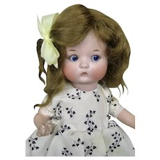 """Adorable 9"""" Fired Bisque Armand Marseille Just Me Doll"""