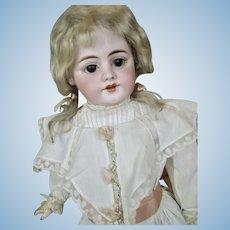 "Delightful 22"" Antique German Simon Halbig 1009 Character Doll"