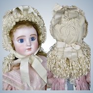 The Most Gorgeous Antique French Bebe Doll Hat