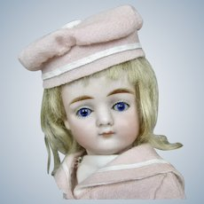 """8"""" All Bisque German Kestner Pouty Closed Mouth Doll w Swivel Neck"""