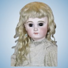 """Exquisite 22"""" Early Jumeau EJ French Bebe Doll"""