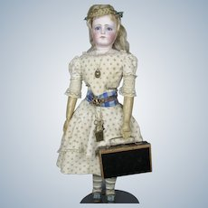 Antique Candy Container Miniature Suitcase for Fashion Dolls