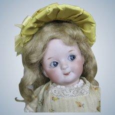 "Antique  9"" German Gebruder Heubach 9573 Googly Doll"