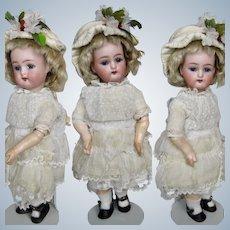 """Antique 8.5"""" K*R Kammer Reinhardt Bisque Head Doll w BJB"""