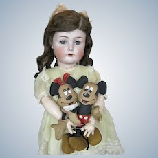 "Adorable 26"" Kammer Reinhardt K*R German Doll w BJB Flapper Body"